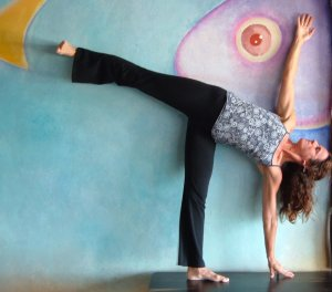 Stephanie Pappas, Author Yoga At Your Wall